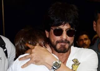 Shah Rukh Khan returns from Kolkata with son AbRam