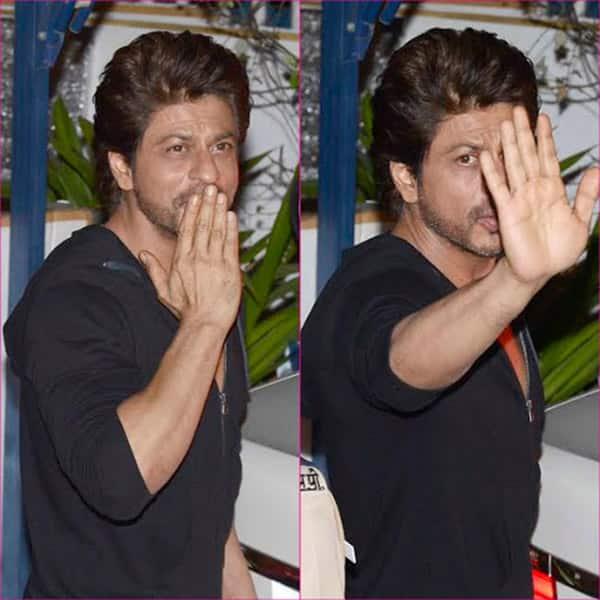 Shah Rukh Khan was spotted with his Rahnuma director Imtiaz Ali