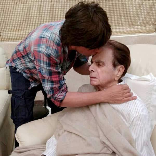 Shah Rukh Khan's bond with Dilip Kumar goes back a long way