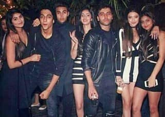 Shah Rukh Khan's daughter Suhana partied hard with her gang on the New Year's Eve