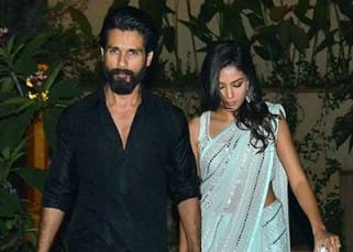 Shahid Kapoor and Mira Rajput spotted leaving for Diwali party