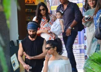 Shahid Kapoor and Mira Rajput take Misha out and we can't take our eyes off how adorable she looks - view pics