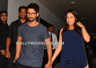Shahid Kapoor spotted with pregnant wife Mira Rajput on dinner date, see pics!