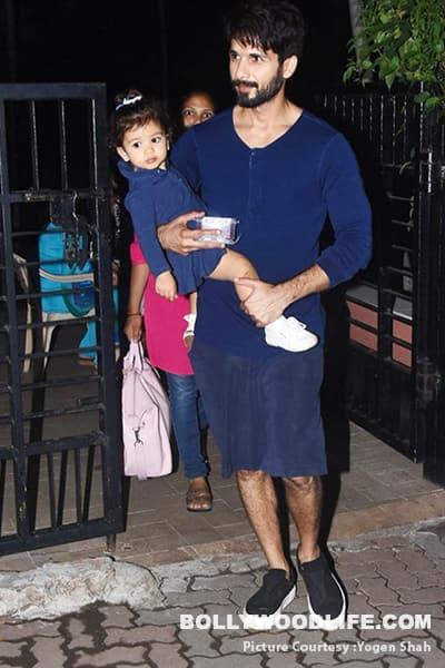 Shahid Kapoor twinning with Misha Kapoor was so adorable