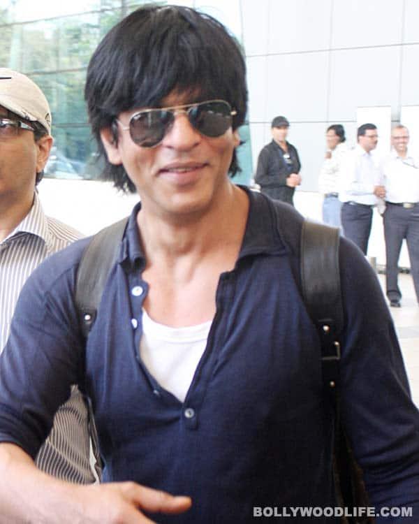 Shahrukh Khan spotted at Mumbai airport
