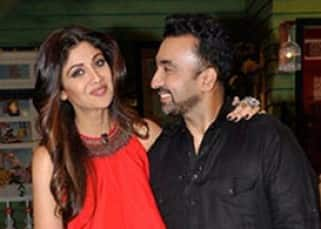 Shilpa Shetty had post birthday celebrations on 'The Kapil Sharma Show' with Raj Kundra and Shamita!