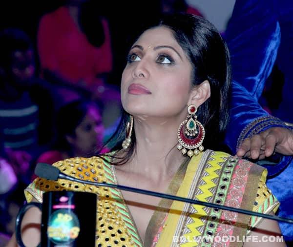 Shilpa Shetty Kundra looks radiant in a Surily Goel lehenga-sari
