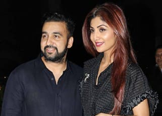 Shilpa Shetty, Raj Kundra and Shamita Shetty spotted with friends on a dinner outing