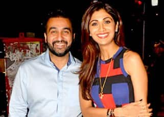 Shilpa Shetty spotted on a dinner outing with hubby Raj Kundra at Bastian restaurant!