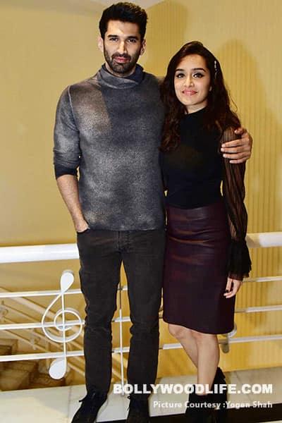 Shraddha Kapoor and Aditya Roy Kapur at the promotions of Ok Jannu in Delhi
