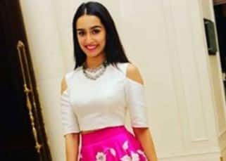 Shraddha Kapoor in Padmasitaa at friend's engagement party