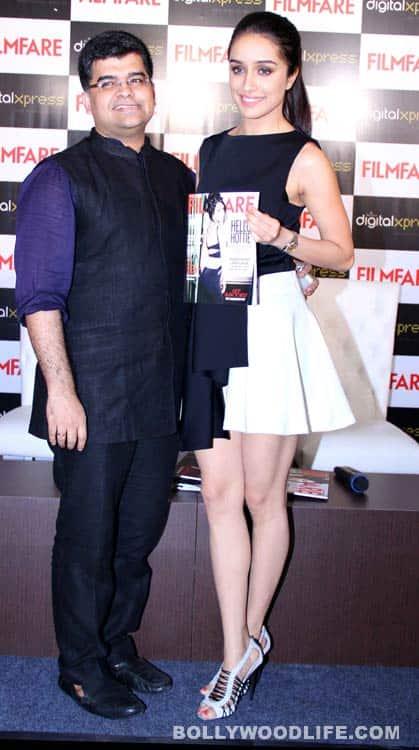 Shraddha Kapoor unveils Filmfare cover - View Pics!