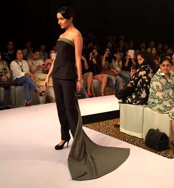 Shraddha Kapoor walks the Lakme Fashion Week ramp as brand ambassador- view pics!