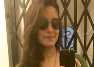 Shraddha Kapoor's selfie before Lakme shoot