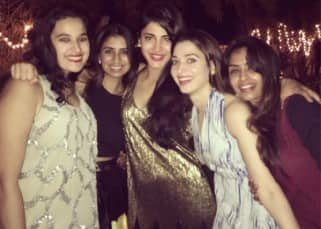 Shruti Haasan brought in her birthday with family and friends in a cosy affair