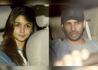 Sidharth Malhotra and Alia Bhatt choose to ignore the paparazzi on Valentine's Day – view pics