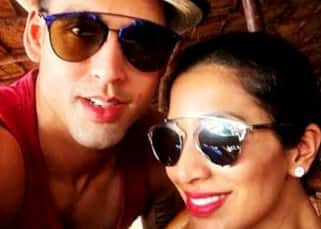 Sidharth Mallya and Sophie Choudry on vacation in Goa