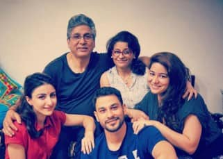 Soha Ali Khana and Kunal Khemu celebrating festivities with family