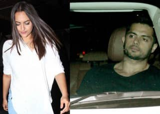 Sonakshi Sinha and Bunty Sachdej avoid getting clicked together on their date