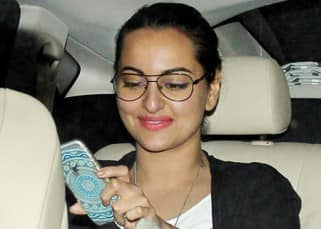 Sonakshi Sinha snapped outside Olive Bar & Kitchen in Mumbai