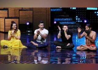 Sonakshi Sinha's Nach Baliye turned into a yoga studio courtesy Baba Ramdev
