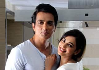 Sonal Chauhan and Sonu Sood shoot for Texmo pipes