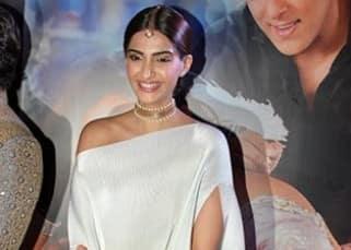 Sonam Kapoor and Salman Khan at jewellery brand logo launch