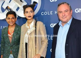 Sonam Kapoor clicked at the launch of Cole Haan