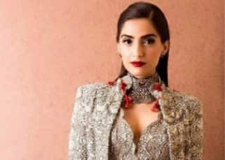 Sonam Kapoor is setting new standard of glamour in Anamika Khanna's outfit for Melbourne Film Festival!