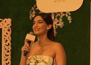 Sonam Kapoor snapped during her app launch