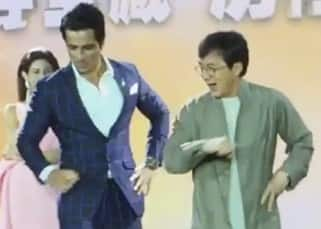Sonu Sood clicked with Jackie Chan dancing on Daler Mehendi's song