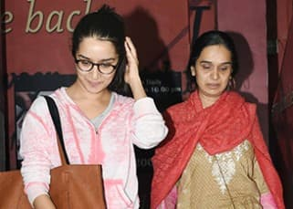 SPOTTED: Shraddha Kapoor seen on a movie date with mommy Shivangi Kapoor