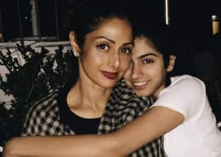 Sridevi with her younger daughter Khushi Kapoor