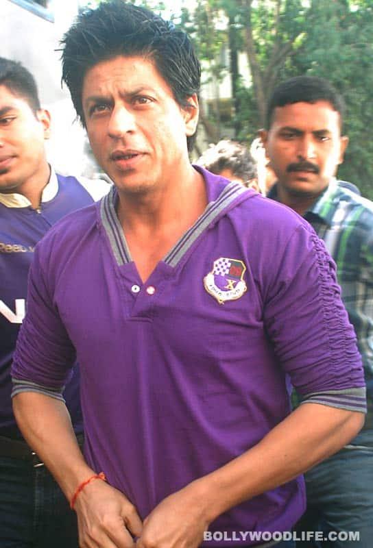 SRK and Priyanka: on location