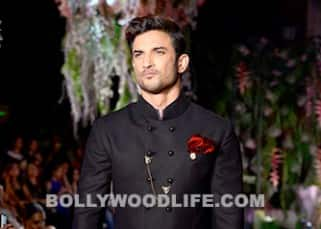 Sushant Singh Rajput graces ramp in dhoti pants and black jacket