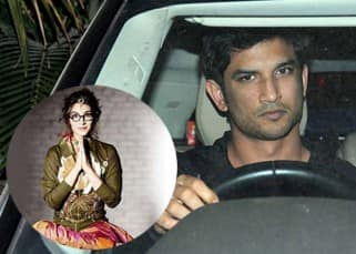 Sushant Singh Rajput spotted outside rumoured girlfriend Kriti Sanon's residence