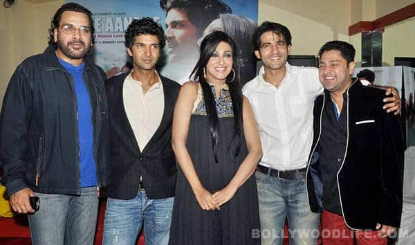 Tere Aane Se - A violent lovestory launch with Rituparna Sengupta and Purab Kohli!