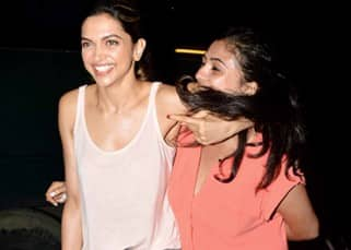 These pictures of Deepika Padukone fooling around with her friend will make you grin ear-to-ear!