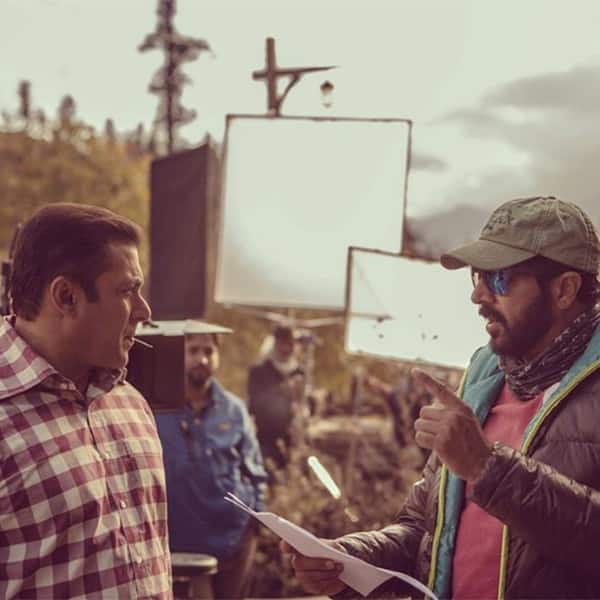 This picture of Salman Khan and Kabir were taken on the last day in Manali during the Tubelight's shoot
