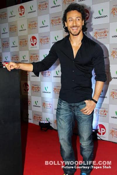 Tiger Shroff was present at the premiere of his rumoured girlfriend Disha Patani's movie Kung Fu Yoga