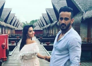 TV actress Anita Hassanandani shares super romantic pics with husband Rohit Reddy from Maldives!