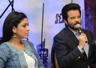 TV serial '24' season 2 star cast during the promotions of the show