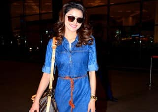 Urvashi Rautela is painting the town blue in this outfit while she leaves for TOIFA 2016