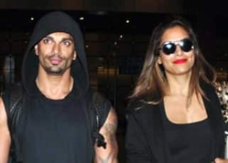 Vacation over for Bipasha Basu and Karan Singh Grover; couple returns from Bali!