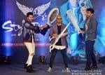 Varun Dhawan and Arjun Kapoor join Aalim Hakim at the launch of the new season of Style Inc
