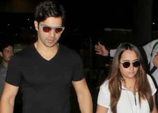 Varun Dhawan and girlfriend Natasha Dalal return from their romantic holiday – view pics