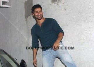 Varun Dhawan clicked at Karan Johar office