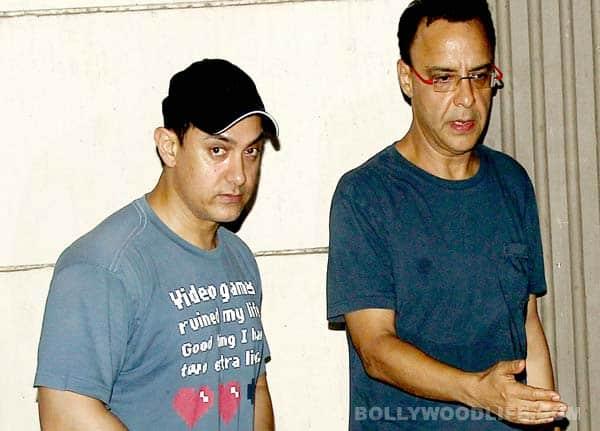 Vidhu Vinod Chopra and Aamir Khan spotted together!