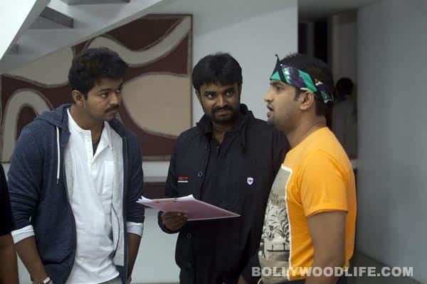 Vijay's Thalaivaa stills and On Shoot pictures!