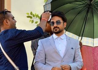 Vir Das during 'Mastizaade' promotion